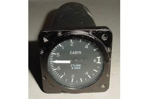 C668517-0101, Cessna Aircraft Cabin Vertical Speed Indicator