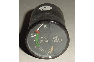 MS28004-1, 147B32A, Aircraft Cylinder Head Temperature Indicator