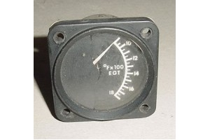 562 339, 562-339, Aircraft Exhaust Gas Temperature EGT Indicator