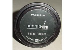 15006, Cessna, Piper Aircraft Hobbs Flight Total Hours Indicator