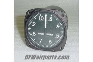 C0815110005, 3883063-1, Kollsman Machmeter Indicator