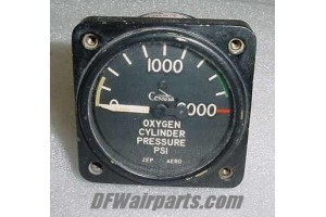 S-1325, AW-1-7/8-2733, Cessna Oxygen Cylinder Pressure Indicator