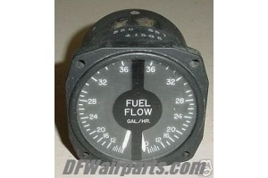 22-868-034-2A, 550-681, Twin Piper Aircraft Fuel Flow Indicator