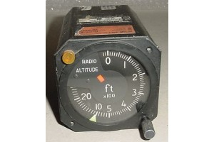 9599607-12134, 9599607, Aircraft Radio Altimeter Indicator