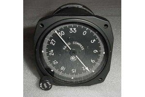 IN-12-1, ARC-41A, Nos Radio Magnetic Compass / ADF Indicator