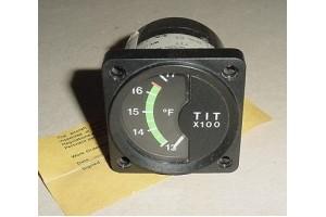 C668501-0301, Cessna Turbine Inlet Temp Indicator w Serv tag