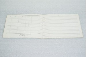 Homebuilt Aircraft Logbook, 8 by 6