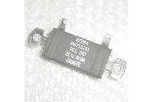 Aircraft Avionics Resistor, RW21G281